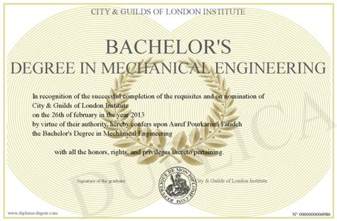 Bachelor S Degree In Mechanical Engineering With Mba Starting Salary by Bachelor S Degree In Mechanical Engineering