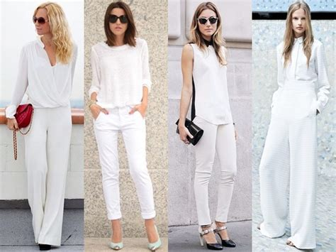 White Style Wardrobe - how to wear cool and crisp all white fashion trends