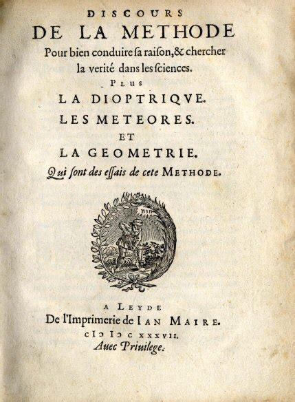 discurso del metodo y file descartes discours de la methode jpg wikimedia commons