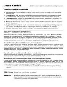 Security Resume Cover Letter by Security Guard Resume Cover Letter