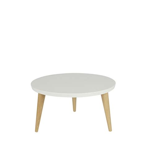 table ronde en pin massif table basse ronde r 233 tro pin massif 216 50 elin by drawer