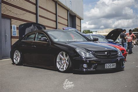 bagged mercedes cls wide body s2000 slam sanctuary