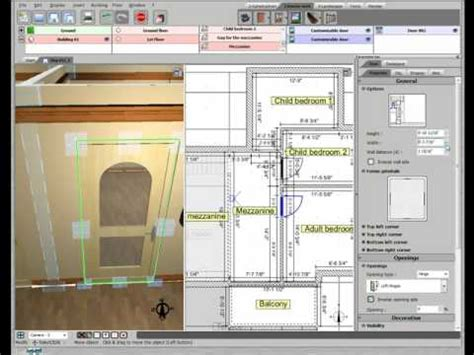 3d Home Design Livecad Tutorials by 3d Home Design By Livecad Tutorials 12 Doors 1st Floor