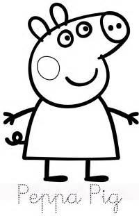 peppa pig family print trace colour fun mar 237 peppa