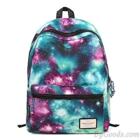 colorful backpacks vintage galaxy colorful waterproof backpack school