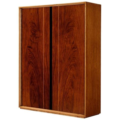 Wall Bar Cabinet De Coene Wall Mounted Bar Cabinet In Walnut For Sale At 1stdibs