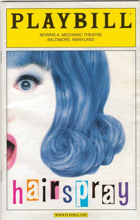 Wanted To Do Broadway by Hairspray Playbill Plays Live Shows I Want To See