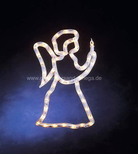 Beleuchtete Fensterdekoration Weihnachten by Fenstersilhouette Engel Weihnachtsbeleuchtung Mit Engel