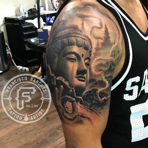 christian tattoo dallas buddha tattoo by francisco sanchez tattoos