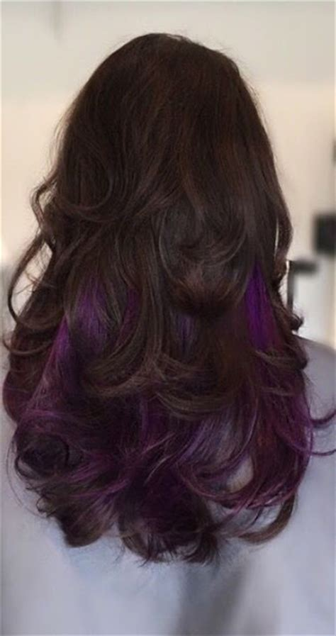 long hairstyles purple highlights sexy purple highlights the haircut web