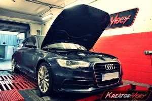Audi A6 3 0 Tfsi Chiptuning by Chip Tuning Audi A6 C7 3 0 Tfsi 310 Km Kreator Mocy