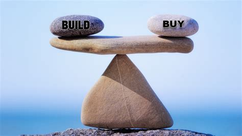Software Dilemma   Buy vs Build (In House or Outsource