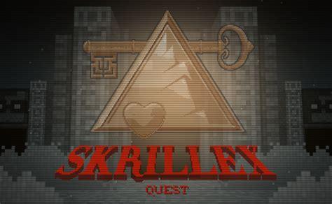 skrillex zelda skrillex quest a browser game homage to zelda 8 bit and