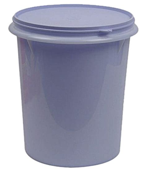 Midi Canister 5 Lt Tupperware tupperware purple canister 8 75 liters buy at best price in india snapdeal