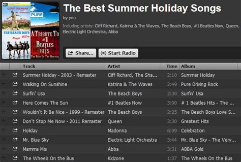 best summer songs may 2013 in meltdown
