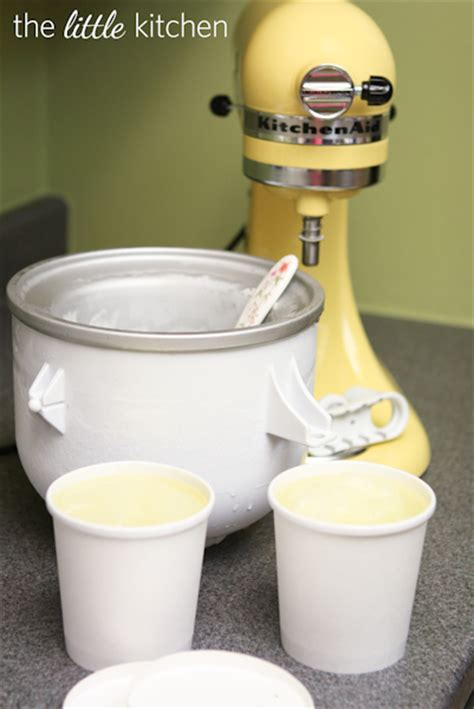 Kitchenaid Lemon Sorbet Recipe Lemon Lime Soda Sorbet A Kitchenaid Attachment