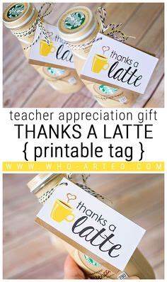 thanks a latte card template s day shoe activity free template included such and easy and project for any age