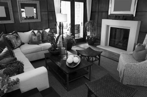 black white and gray home decor living room ideas grey black and white living room