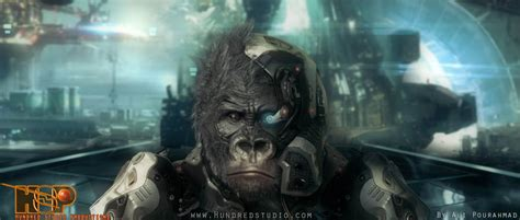 awn of the planet of the apes ali pourahmad and quot dark planet of the apes quot 2015 animation world network