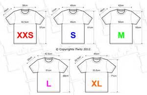 size t shirt template restaurant measurements images table standard