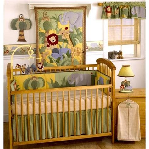 Jungle Nursery Bedding Sets Amazing Safari Themed Nursery For Baby Www Nicespace Me