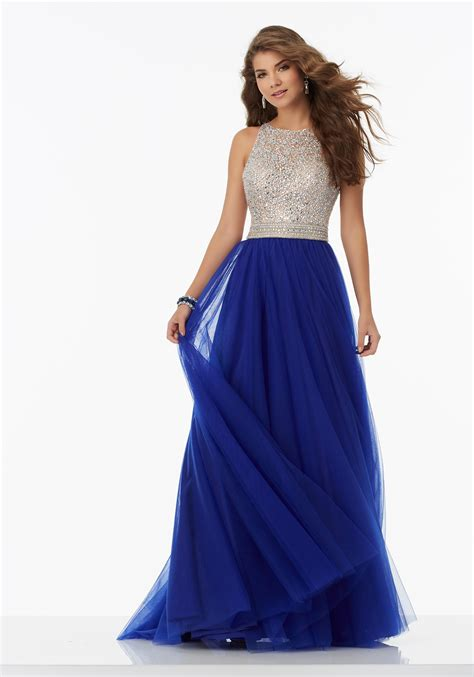 beaded bodice prom dress a line prom dress featuring a fully beaded bodice and soft