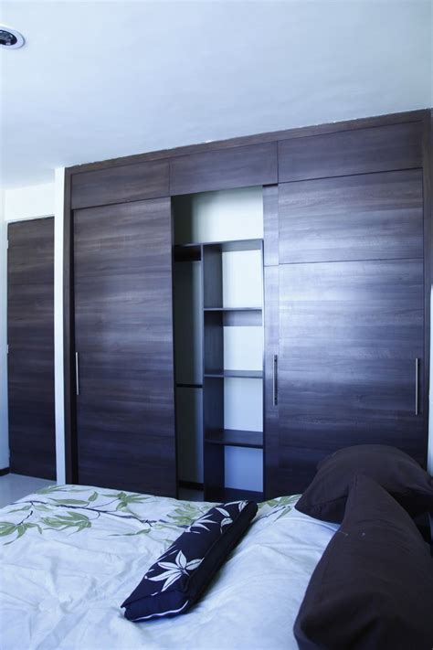 Modern Bedroom Closet Doors Sliding Closet Door Bedroom Contemporary With White Cotton