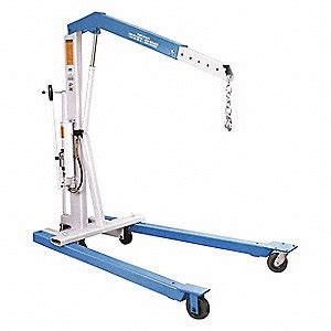mobile floor crane catalogue otc mobile floor crane steel 4400 lb 48xv30 1820