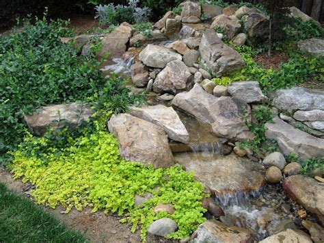 ponds waterfalls