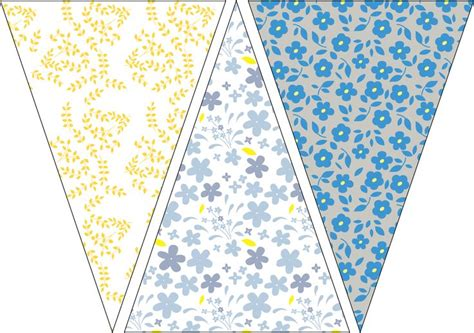 printable bunting flag 194 best images about garlands banners and buntings on