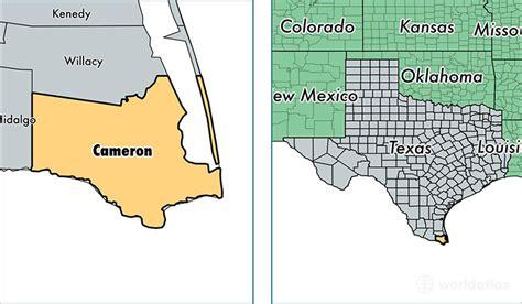 cameron county texas map cameron county texas map of cameron county tx where is cameron county