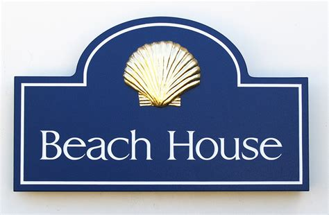 beach house signs beach house property sign danthonia designs usa