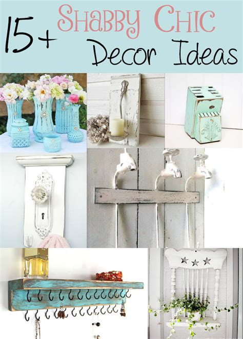 country chic home decorating ideas 15 shabby chic decor ideas the craftiest