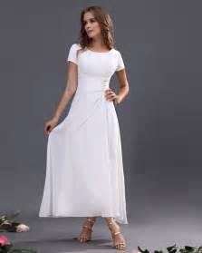tea length bridesmaid dress with sleeves dresses trend