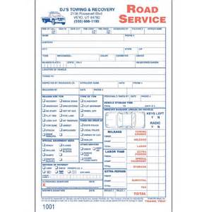 Towing Company Receipt Template Tow Truck Invoice Forms Joy Studio Design Gallery Best