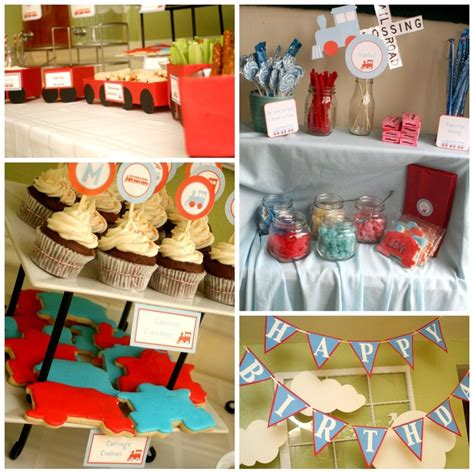 train themed birthday party ideas 7 best images about train birthday theme on pinterest