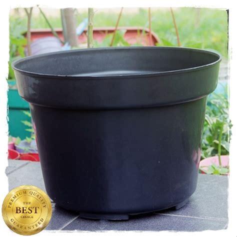 jual pot bunga cm hitam toko pot plastik tanaman hias