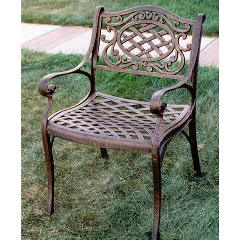 oakland living patio furniture oakland living 174 mississippi arm chair 122313 patio
