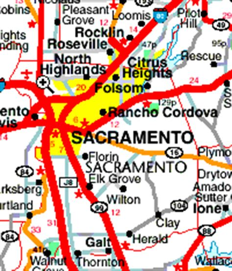 easy printable driving directions map of california road map of california usa