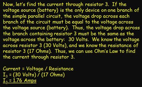 finding current through a resistor in a circuit current electricity lab activity page five ps