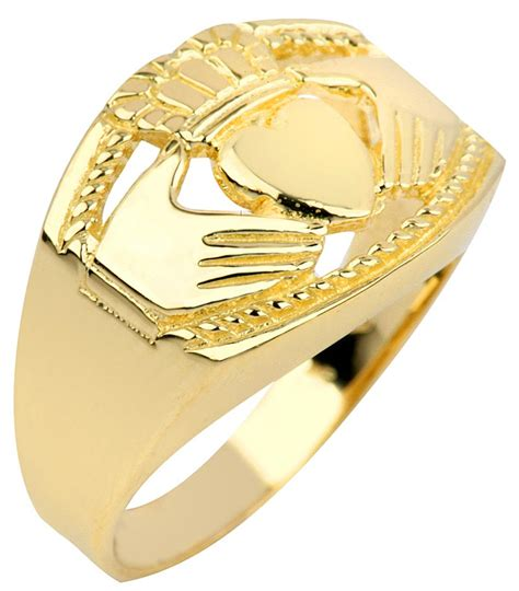 claddagh ring s gold claddagh ring bold at irishshop