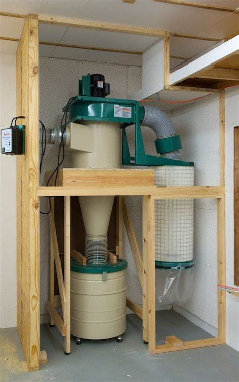 building  cyclone dust collector system woodworking