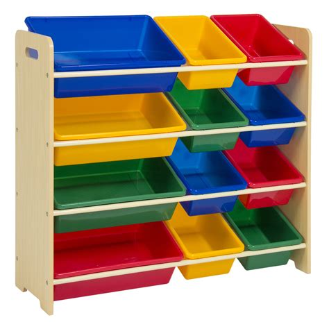 toy bin organizer kids childrens storage box playroom bedroom shelf drawer ebay