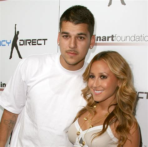 rob kardashian and adrienne bailon tattoos why did rob and adrienne bailon up we ve