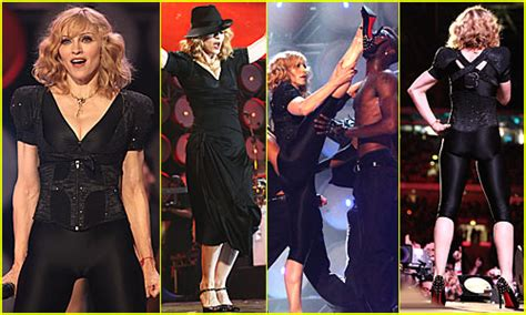 Madonnas Gorgeous Louboutins At Live Earth Uk by Madonna Live Earth Madonna Just Jared