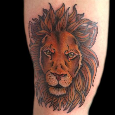 traditional lion tattoo traditional tattoos