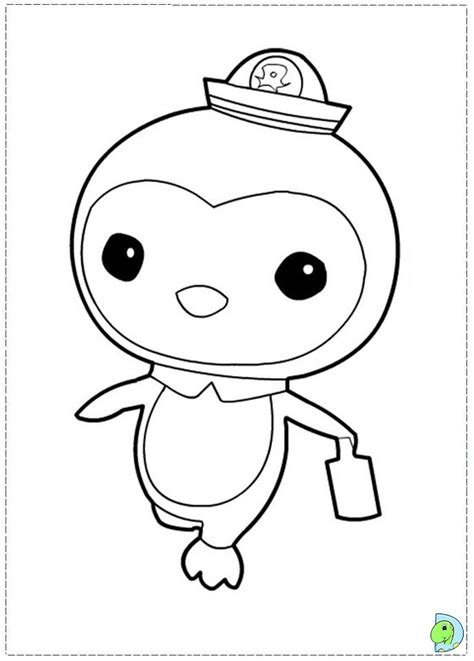 free coloring pages of gup d octonauts