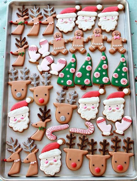 pictures of decorated christmas cookies using royal icing how to decorate cookies simple designs for beginners sweetopia