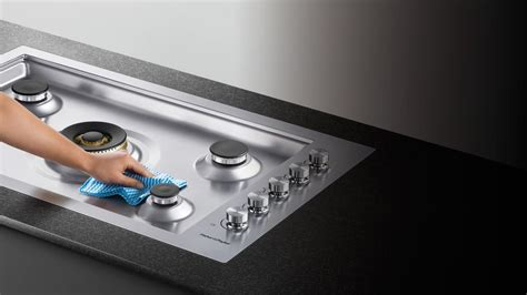 Easy Clean Gas Cooktop cg365dwlpacx2 36 quot flush gas on steel cooktop
