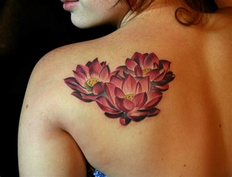 lotus flower back tattoo designs 41 enticing lotus flower tattoos